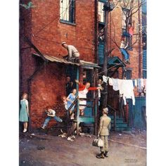 Norman Rockwell Prints, Norman Rockwell Paintings, Illustrator, Arte Country, Arte Pop, Pics Art, American Artists, Belle Photo, Les Oeuvres