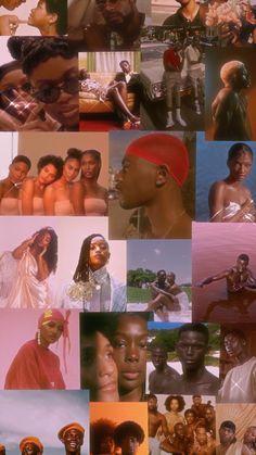Black Girl Aesthetic, Brown Aesthetic, Aesthetic Collage, Pink Wallpaper Iphone, Girl Wallpaper, Iphone Backgrounds, Aesthetic Pastel Wallpaper, Aesthetic Wallpapers, Black Art Painting