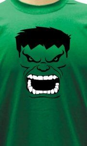 Camiseta Hulk Face