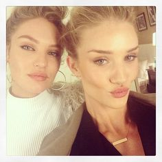 Rosie Huntington Whiteley Celebrates Birthday with Candice Swanepeol & Heather Marks