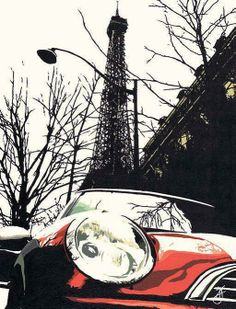 Eiffel Tower, Mini - Jo Fairbrother