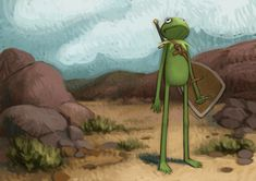 Chris Johnston - Kermit on a Quest