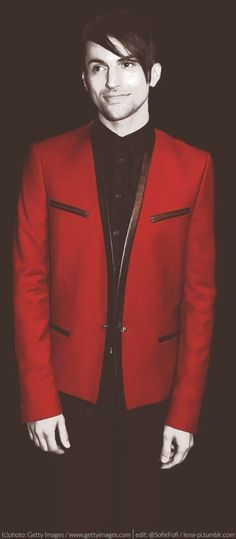 Mitch rocks red... And black... And brown... And literally every color ever