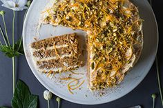 I especially like the orange blossom water in the icing for this special occasion cake. With any flavourings, be cautious with the amount you use – too much and it will take over the whole cake. You could use rosewater or vanilla extract or lime or lemon zest instead.