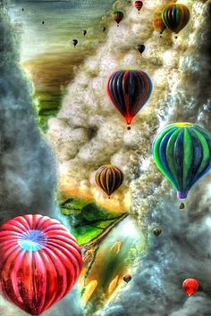 Amazing Colorful Balloons