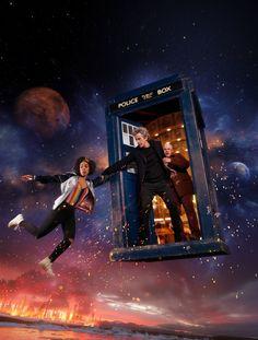 """O canal Syfy (syfy.com.br) lembra aos Whovians brasileiros que a 10ª temporada de Doctor Whoestreia no próximo dia 16 de abril, domingo de Páscoa, às 20h. O primeiro episódio """"The Pilot&#822…"""