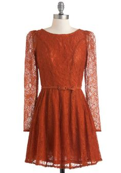 Flourish De Lis Dress in Cinnamon, #ModCloth