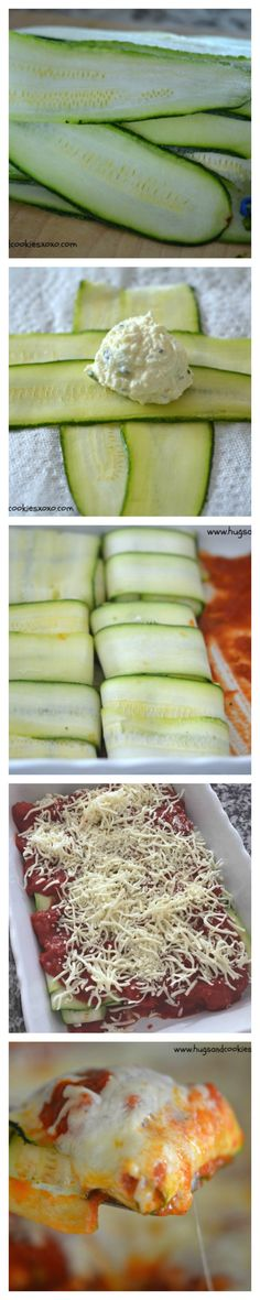 zucchini raviolis baked