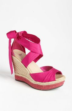 UGG® Australia Lucianna Wedge in Raspberry Sorbet (Honestly, how could you turn down anything called Raspberry Sorbet?)