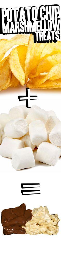 Potato Chip Marshmallow Treats