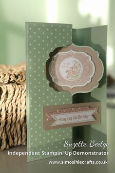 Stampin' Up - New Thinlits Card Dies | Simosihle Crafts