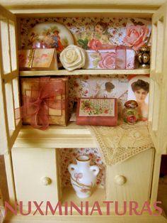 Dollhouse Beauty closed II by NuxMiniaturas on Etsy, $85.00