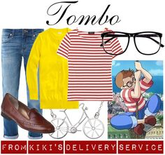 [Kiki's Delivery Service] Tombo View all Studio Ghibli-inspired outfits here!