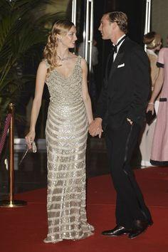 MyRoyals:  Rose Ball 2015, Sporting Monte-Carlo, Monaco, March 28, 2015-Beatrice Borromeo and Pierre Casiraghi