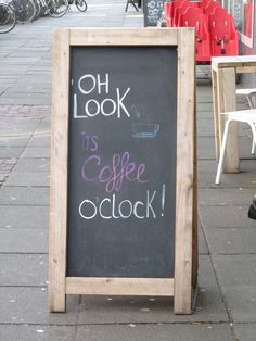 Its Coffee o' Clock!