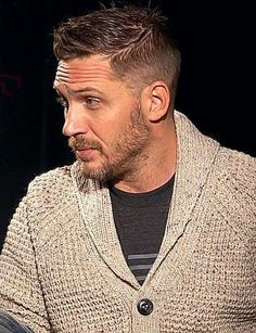 28 Top Pompadour Haircuts for Men Trends) - Style My Hairs Tom Hardy Haircut, Pompadour Fade, Haircuts For Men, Haircut Men, Hollywood Actor, Thing 1, Gorgeous Men, Hot Guys, At Least