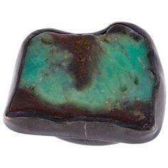 Monies chrysoprase black copper ring ($490) ❤ liked on Polyvore featuring jewelry, rings, blue, blue ring, copper jewelry, monies jewellery, chrysoprase ring and monies jewelry