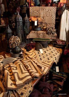 Maiwa African textiles
