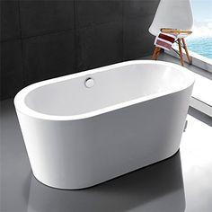 Kaifeng Modern Freestanding Acrylic Soaking Bathtub, GlossyWhite, KC-715KC by Kaifeng, http://www.amazon.com/dp/B01M9AFZE5/ref=cm_sw_r_pi_dp_x_KtxCzbTQSQZBZ