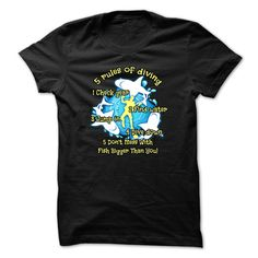 cool Scuba diving t-shirt - Rules of diving