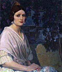 Retrato de Valenciana