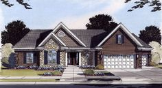 Plan No.538140 House Plans by WestHomePlanners.com