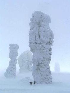 Seven Giants or Seven Brothers & One Sister, Ural Mountains, Russia