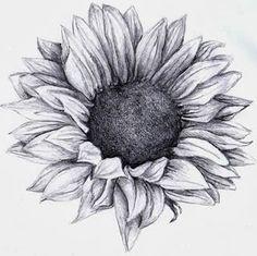 brushstrokes, etc.: Sunflower tattoo
