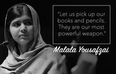 Words of Wisdom to celebrate International Women's Day  #MakeItHappen #women #feminism #quotes #malalayousafzai