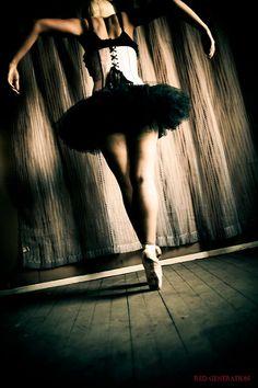 Dark Ballerina inspo for Luli's shoot