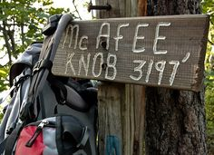 McAfee Knob is one stop on the Roanoke Seven Summits tour this fall.