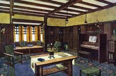 A Gustav Stickley Craftsman Interior