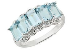 Aquamarine Rings | Ring-O-Blog - Directory of Wonderful Rings