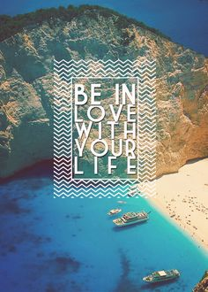 Be in love with your life. If at this very moment you are not, start now. No matter how bad it is, it can be better. It will not be easy. It will not happen quickly. But if you want a life that you can be in love with, only you can make it happen. Start with a decision to change. Start with prayer. He/she who prays will be heard. JP