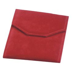 Noble Gift Packaging's Red Pearl Suede Folders.  Available in a variety of sizes and colours