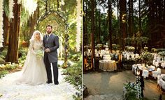 10 Insane Facts About Sean Parker's Enchanted Forest Wedding   TheKnot.com