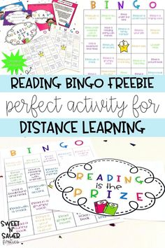 Your students will love reading at home with this interactive and fun Bingo activity! This was created for distance learning and can be used with kindergarten, 1st, 2nd, 3rd, 4th, or 5th grade students. This is a great way for parents to interact and read with their kids!