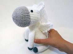 Crochet PATTERN PDF Amigurumi Pegasus amigurumi by MevvSan