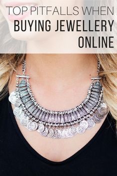 Jewelley online shopping tips from The Wardrobe Stylist to help you select the best sites to purchase from. Jewellery online shops advice to choose the best options. Jewelry shopping sites for all kinds of accessories #Jewelry #Jewellery #OnlineShopping
