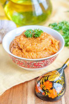 recipe: baklazhannaya ikra russian eggplant caviar [24]