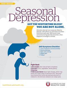 Seasonal Depression Infographic