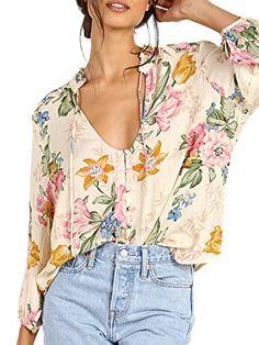 Auguste Havana Nights Delilah Boho Blouse Delilah Bloom Natural Summer Outfits 2017, Havana Nights, Floral Tops, Bloom, Natural, Women, Fashion, Moda, Top Flowers