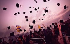 Getting ready for college graduation - capture the moment