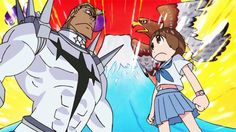 Some of you may already know, but KILL la KILL was originally planned to become the typical monster/villain of the week style of anime. Description from randomc.net. I searched for this on bing.com/images