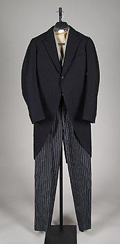 Collection | The Metropolitan Museum of Art..Morning suit  Bernard Weatherill (British, founded 1912)  Date: 1928  Medium: Wool