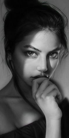 ArtStation - Portrait practice, Ted Wu