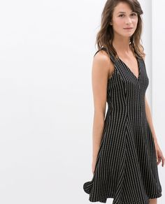 Image 1 of SLEEVELESS A-LINE DRESS from Zara
