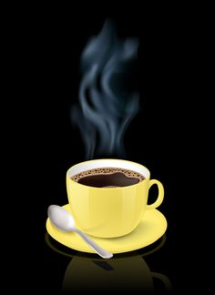 MeWe is the Next-Gen Social Network. Good Morning Coffee, Coffee Time, Coffee Cups, Crazy Wallpaper, Flower Wallpaper, Masala Chai, Yellow Cups, Mellow Yellow, Black Backgrounds