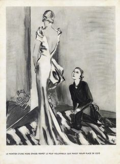 Eric (Carl Erickson) 1934 Maggy Rouff Fitting