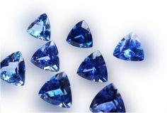 Tanzanite Jewelry, Tanzanite Stone, Tanzanite Ring, Gemstone Jewelry, Blue Wedding, Etsy Store, Primary Colors, Wedding Rings, Shapes